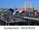 santa monica  california  usa   ... | Shutterstock . vector #541378153