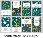 vector set of card templates.... | Shutterstock .eps vector #541416397
