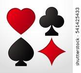 Card Suit Vector Illustration...