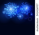 firework new year holiday... | Shutterstock .eps vector #541426957