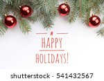 background with christmas... | Shutterstock . vector #541432567