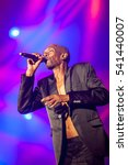 Small photo of NOVI SAD - JULY 13 : Faithless on main stage at EXIT 2015 Music Festival July 13, 2015 in Novi Sad, Petrovaradin Fortress, Serbia