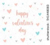 happy valentine's day.... | Shutterstock .eps vector #541448083