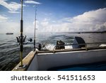 Sport Fishing Boat Off The...