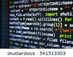 software developer programming... | Shutterstock . vector #541513303