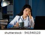 closeup portrait sad unhappy...   Shutterstock . vector #541540123