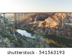 Small photo of Perrine Bridge over the Snake River Canyon in Twin Falls, Idaho, USA.