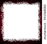 illustration winter square... | Shutterstock .eps vector #541568083