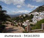 landscape old spanish village | Shutterstock . vector #541613053