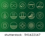 wood properties icons. vector... | Shutterstock .eps vector #541622167