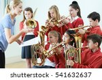 group of students playing in... | Shutterstock . vector #541632637