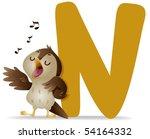 N For Nightingale   Vector