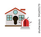 isolated house and alarm design