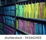 Customer Paper Data On Shelf