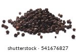 Pile Of Black Peppercorns ...