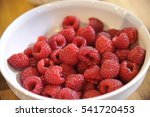 rasberries | Shutterstock . vector #541720453