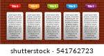 information infographic... | Shutterstock .eps vector #541762723