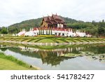 ho kum luang  thai architecture ...   Shutterstock . vector #541782427