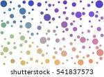 light multicolor pattern of... | Shutterstock .eps vector #541837573
