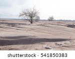 very dirty snow as result of ... | Shutterstock . vector #541850383