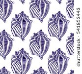 vector seamless pattern with... | Shutterstock .eps vector #541853443