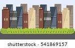 quarter of sleeping area. high... | Shutterstock .eps vector #541869157