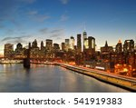 View Of Lower Manhattan With...