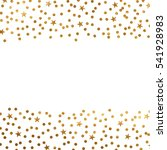 gold glitter background polka... | Shutterstock .eps vector #541928983
