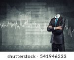 headless businessman with arms...   Shutterstock . vector #541946233