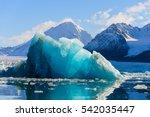 piece of glacier | Shutterstock . vector #542035447