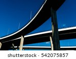 High Contrast Silhouette Of...
