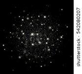 vector glitter particles... | Shutterstock .eps vector #542080207