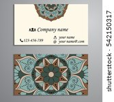 invitation  business card or...   Shutterstock .eps vector #542150317