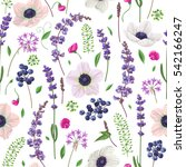 seamless pattern made with...   Shutterstock .eps vector #542166247