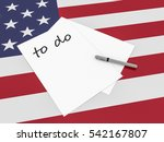 strategy in the usa  to do note ...   Shutterstock . vector #542167807