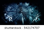 3d rendering of futuristic... | Shutterstock . vector #542174707