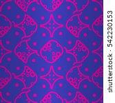 bright blue geometrical...   Shutterstock .eps vector #542230153