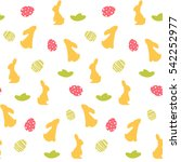 vector seamless pattern with... | Shutterstock .eps vector #542252977