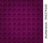 bright violet geometrical... | Shutterstock .eps vector #542274163