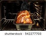 home made freshly baked... | Shutterstock . vector #542277703