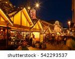 nottingham  england   december...   Shutterstock . vector #542293537