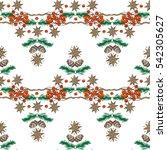 rowanberry  cinnamon  pine...   Shutterstock .eps vector #542305627
