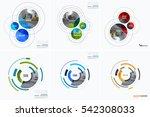business vector design elements ... | Shutterstock .eps vector #542308033