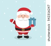 cartoon santa claus for your... | Shutterstock .eps vector #542316247