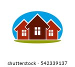 district conceptual... | Shutterstock . vector #542339137