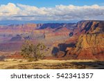 incredible scenic view of... | Shutterstock . vector #542341357