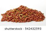 dog   cat food background on...   Shutterstock . vector #542432593