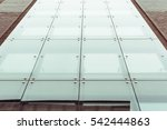 large office building in clean... | Shutterstock . vector #542444863