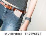 smart phone in pocket jeans