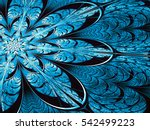 Fractal Flower   Abstract...